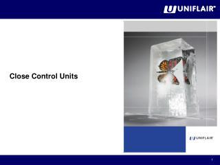 Close Control Units