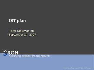 IST plan