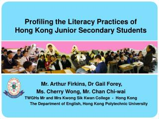 Profiling the Literacy Practices of Hong Kong Junior Secondary Students
