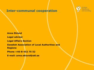 Inter-communal cooperation