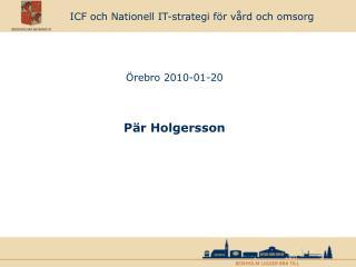 ICF och Nationell IT-strategi för vård och omsorg