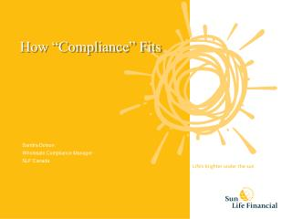 """How """"Compliance"""" Fits"""