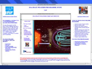 Review of existing Space Weather Service