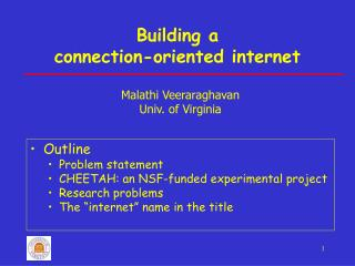 Building a  connection-oriented internet