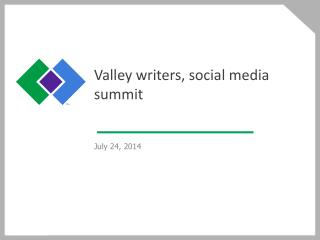 Valley writers, social media summit
