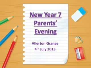 New Year 7 Parents' Evening