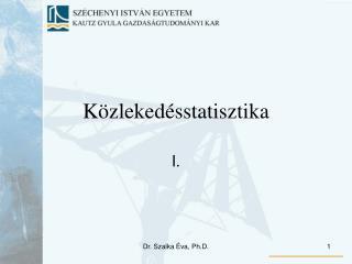 Közlekedésstatisztika