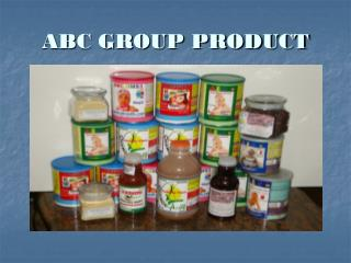 ABC GROUP PRODUCT