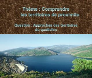 Thème : Comprendre       les territoires de  proximite Question : Approches des territoires