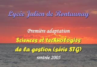 Lycée Julien de Rontaunay