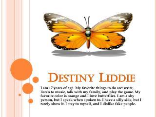 Destiny Liddie