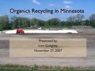 Organics Recycling in Minnesota