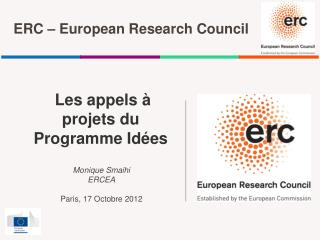 ERC – European Research Council