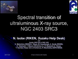Spectral transition of  ultraluminous X-ray source,  NGC 2403 SRC3