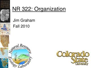 NR 322: Organization