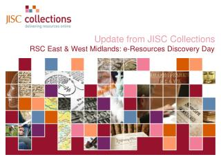 Update from JISC Collections