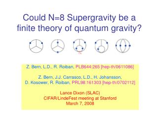Could N=8 Supergravity be a  finite theory of quantum gravity?