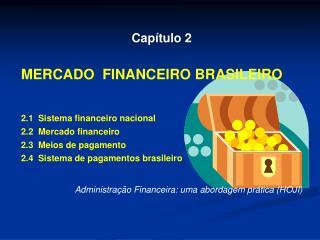 Capítulo 2 MERCADO  FINANCEIRO BRASILEIRO 2.1  Sistema financeiro nacional 2.2  Mercado financeiro