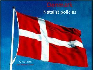 Denmark Natalist  policies