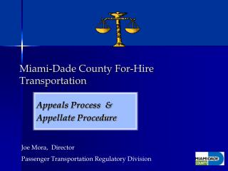 Miami-Dade County For-Hire Transportation