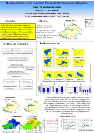 The characteristics of water resources in XinJiang Uyghur Autonomous Region,China,