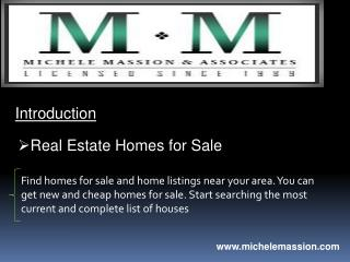 Real Estate Homes for Sale