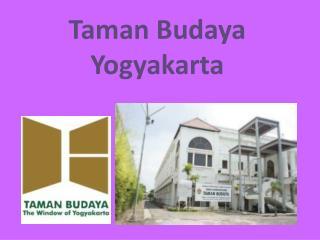 Taman  Budaya  Yogyakarta