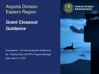 Airports Division Eastern Region