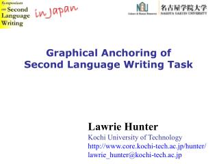 Graphical Anchoring of  Second Language Writing Task