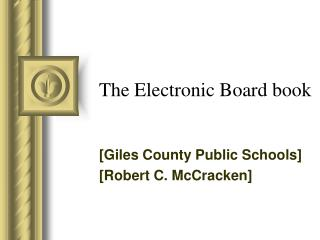 The Electronic Board book
