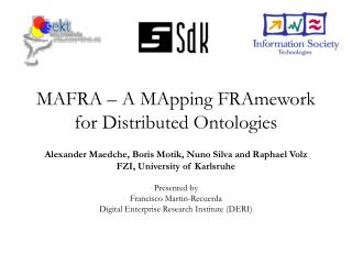 MAFRA – A MApping FRAmework for Distributed Ontologies