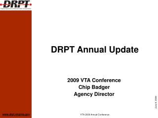 DRPT Annual Update