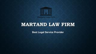 Martand law firm- A name to rely for Service Matters