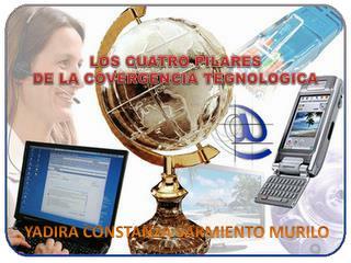 LOS CUATRO PILARES  DE LA COVERGENCIA TEGNOLOGICA