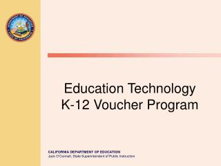 Education Technology K-12 Voucher Program