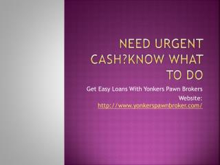 Get Easy Cash Pawn in NYC