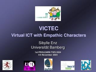 VICTEC Virtual ICT with Empathic Characters