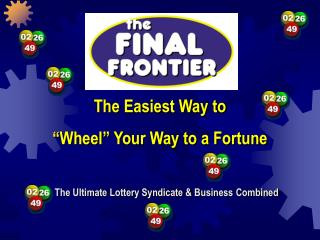 """The Easiest Way to  """"Wheel"""" Your Way to a Fortune"""