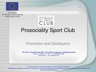 Prosociality Sport Club