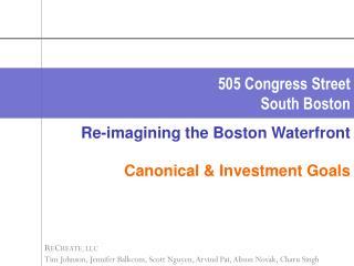 505 Congress Street South Boston
