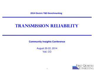 Transmission reliability