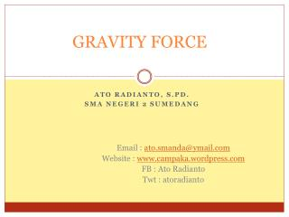 GRAVITY FORCE
