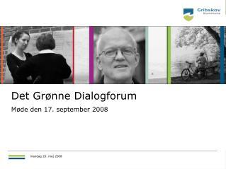 Det Grønne Dialogforum