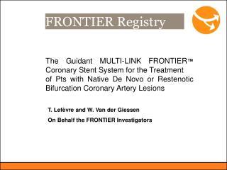 FRONTIER Registry