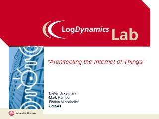 """Architecting the Internet of Things"""