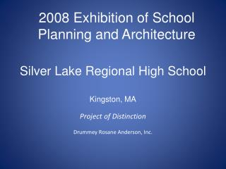 Silver Lake Regional High School