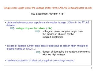 Single event upset test of the voltage limiter for the ATLAS Semiconductor tracker