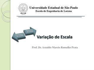 Universidade Estadual de São Paulo Escola de Engenharia de Lorena