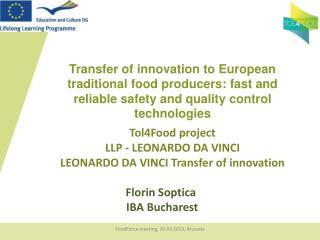 Florin Soptica  IBA Bucharest