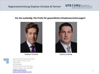 Regionalvertretung Stephan Schultze & Partner